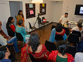 Glimpse of an interactive session