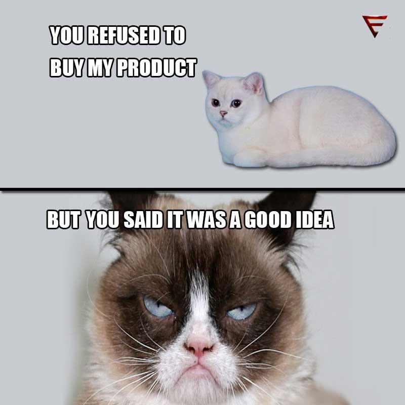iamanentrepreneur cat speak humour