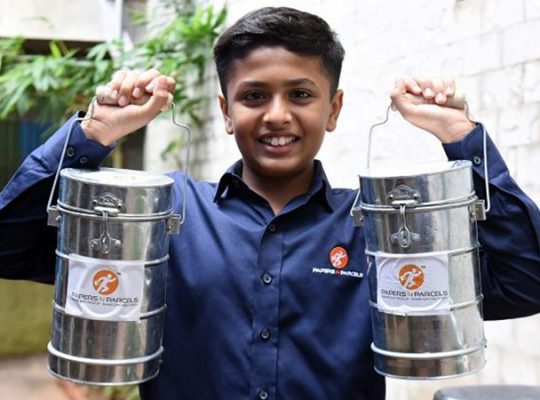 This Kid's Business Plan Re-models the 'Dabba' Business in Mumbai