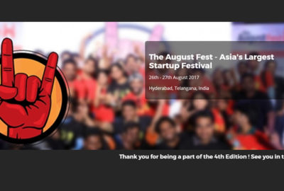 The August Fest – Asia's Largest Startup Festival